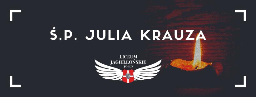 Ś.P. Julia Krauza