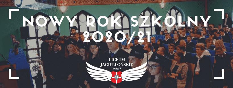 Nowy Rok Szkolny 2020/21